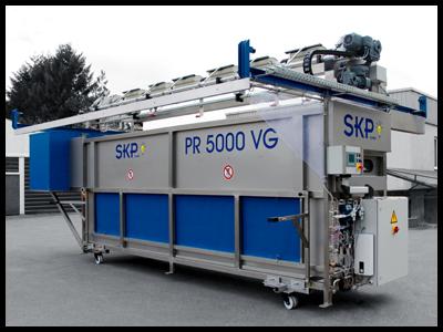 PR5000 - automatische Zeltreinigunsanlage